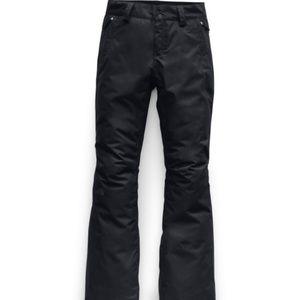 The North Face women's snowboarding pants black
